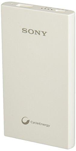 Sony Cargador Portátil 5,000 mAh Color Blanco