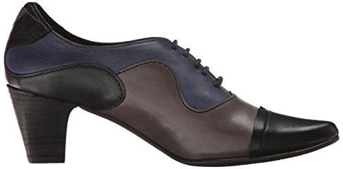 Fidji Womens V313 Oxford Nero / Grigio Navy