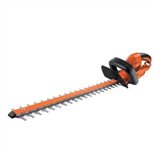 Black & Decker GT6060 600W 60cm Hedgetrimmer/ 25mm Blade Gap/ Bale Handle Design/ Cable Management