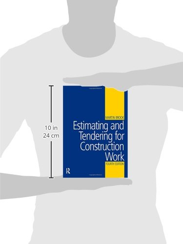 Estimating and Tendering for Construction Work: Amazon co uk: Martin