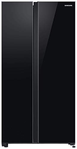 Samsung 700 L Inverter Frost-Free Side-By-Side Refrigerator (RS72R50112C/TL, Black)