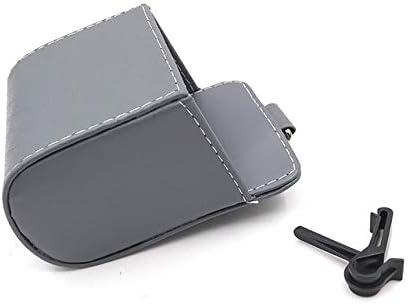 Caja De Escape Del Coche Cuero De La Pu Soporte Para Teléfono Del Coche Bolsa De