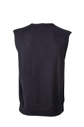 Klassischer Herren -Baumwoll-Pullunder XL,Black