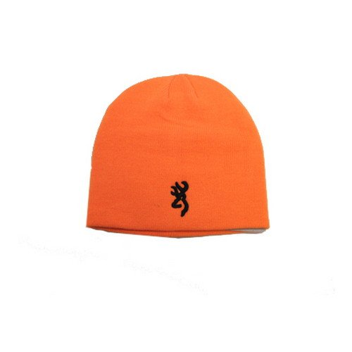 Beanie, Blaze Orange, Fitted ()