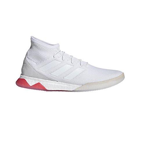 Adidas Menns Predator Tango 18,1 Trener Hvit / Hvit / Real Korall
