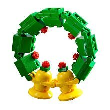 Image result for lego wreath