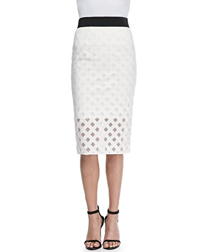 Milly Lattice Mesh Midi...