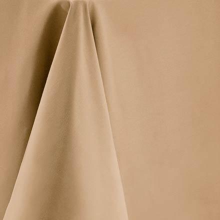 Bright Settings Fabric Sample - Spun Polyester Solid Colors-Tan