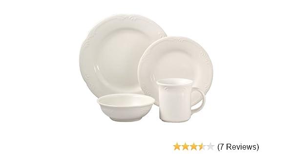 Amazon.com | Pfaltzgraff Filigree 32-Piece Dinnerware Set (Service ...