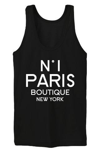 Nr 1 Paris Boutique Tanktop Girls Nero