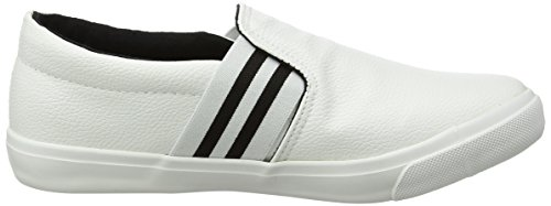 para Zapatillas Mujer New Moochy Wide Foot Blanco 10 Look White n4Cq4p