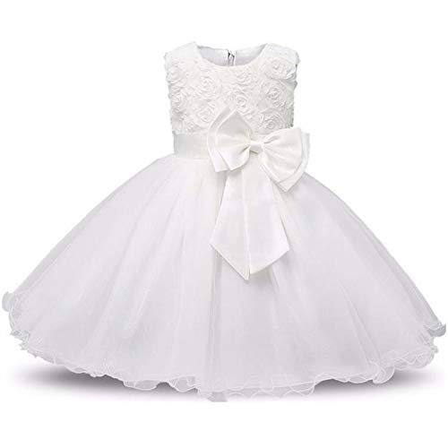 (New Flower Christmas Dress Baby Girl Toddler Clothes Party Wedding Kids Dresses for Girls Costume Princess Dress 2 10)
