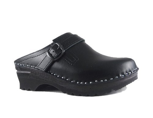Clogs Båstad Black 35 Leather EU Troentorp Women's Donatello 5OtARqnUXw