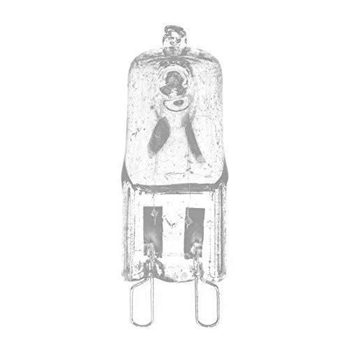 BIN BON - 10 X Halogen Bulb Lamp G9 230V 40W Warm White For House ()