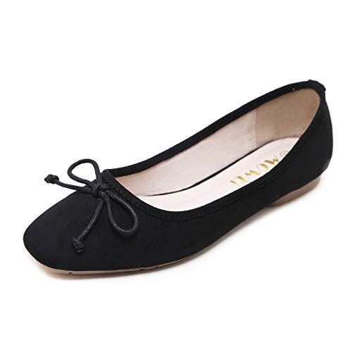 single shoes shallow shoes comfortable flat A casual mouth and shoes fashion work autumn Spring ladies FLYRCX qOTgw