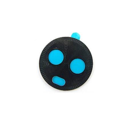 PHONSUN - Tapa de Vidrio para Lente de cámara Trasera con calcomanía para Motorola Moto X4 XT1900, Color Negro