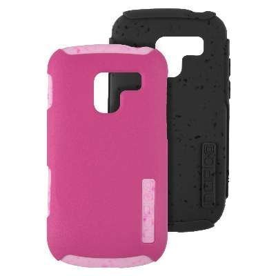 Incipio Silicrylic Hybrid Case - Incipio SILICRYLIC DualPro ECO Case for Samsung Exhilarate - Pink & Gray Gels