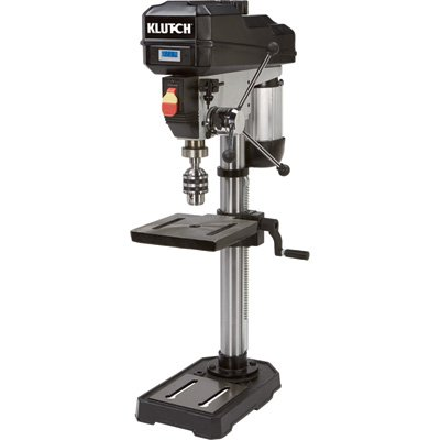 Klutch 12in. Bench Mount Drill Press – 3/4 HP, Variable Speed, Digital Display