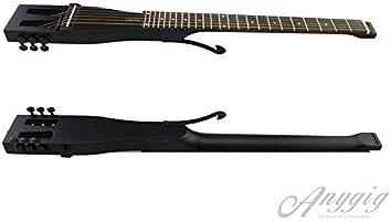 Anygig AGSSE - Guitarra de Viaje portátil de Longitud Completa ...
