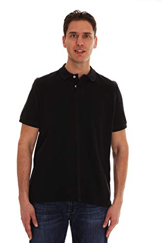 - Whiskey and Oak Classic Fit Short Sleeve Polo Shirts for Men 15930-BLK-L Black