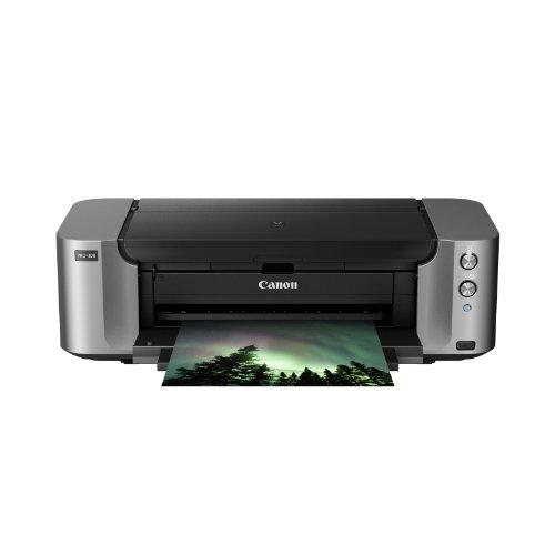 Canon PIXMA PRO-100 13-Inch x 19-Inch Professional Photo Inkjet Printer, Grey (6228B003)