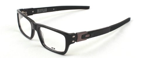 b9903a8edc Oakley Muffler Rx Prescription Eyeglasses Frame 22-202 Black 53mm   Amazon.ca  Clothing   Accessories