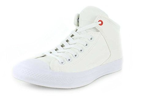 Converse Unisex Chuck Taylor High Street Ox White Sneaker - 8 Men - 10 Women