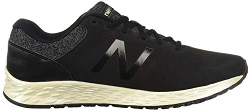 New Balance Women's Fresh Foam Arishi V1 Running Shoe, Black/Magnet/Light Gold/Metallic 5 B US by New Balance (Image #7)