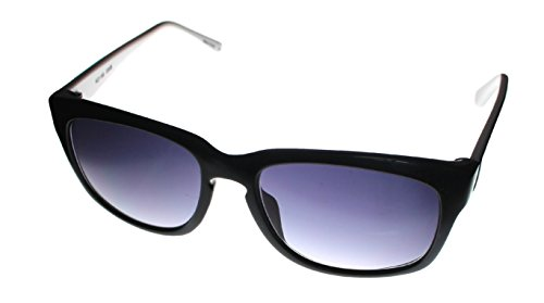 Fashion Sunglasses: Black/Smoke - Gradient Wayfarer