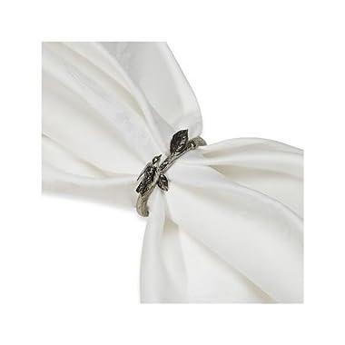 Lenox Chirp Napkin Rings Silver