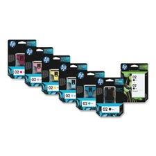 HP 02 Series Ink Cartridges