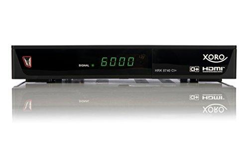 Xoro HRK 8740 CI+ PVR Digitaler Kabel-Receiver (HDTV, DVB-C, CI+, HDMI, SCART, PVR-Ready, 2x USB 2.0) schwarz