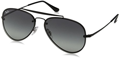 Ray-Ban 0rb3584n153/1158blaze Aviator Sunglasses, Demi Glos Black, 58 - Blaze Aviator Ray Ban