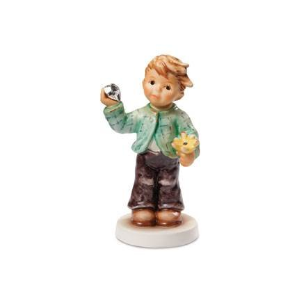 Hummel Manufaktur Hummel Figurine Sweetheart with Swarowski Crystal Stone, Original MI Hummel Collection, ()