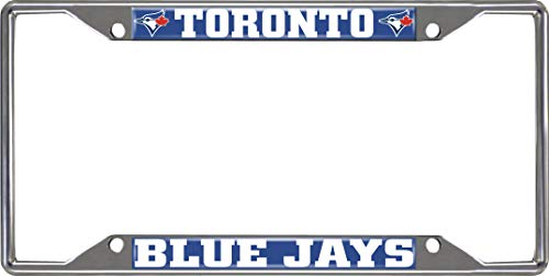 Toronto Blue Jays License Plate - FANMATS MLB - Toronto Blue Jays License Plate Frame
