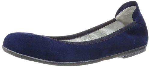 Däumling Hanna - Bailarinas de cuero para niña azul Capretto tiefsee azul - Blau (Capretto tiefsee)