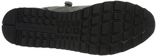 Schmenger Gris Stone Mix Zapatillas 51 Schuhmanufaktur Sohle Mujer 18220 und Gun Grau Kennel ATq1T