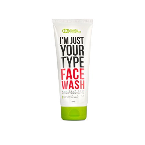 Happily Unmarried Face Wash, 100ml  Oily Skin