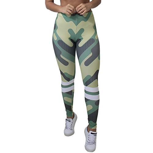 Calça Feminina Legging Camouflage