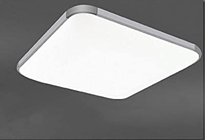 Future Star MON Creative LED Flushmount Light Square LED Ceiling Light Lamp 12w 12x12 Inch Warm Cool White Surface Mounted LED Ceiling Lamp for Living Dinning Room