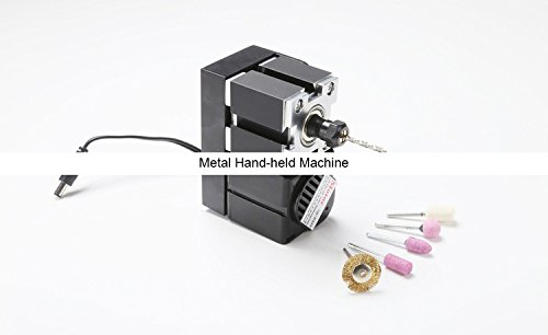 Z10001M 24W Metal Hand-held Machine/24W,20000rpm Metal DIY on-hand machine/hand type mini lathe by MUCHENTEC