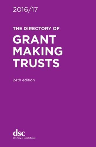 The Directory of Grant Making Trusts 2016/17