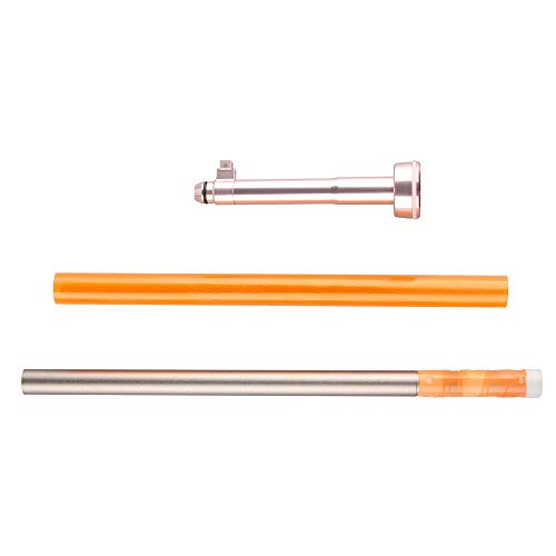 WORKER Short Dart Rifled Tube Kit Injection Molding Rose Gold Part for Nerf Longshot CS-12 Modify Toy