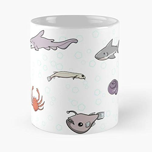 Candiru Spider Crab Goblin Shark - Funny Gifts For Men And Women Gift Coffee Mug Tea Cup White-11 Oz.
