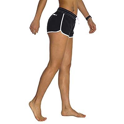 Amazon.com : Rocorose Women's Board Shorts Quick Dry Drawstring Sports Summer Bottom Swim Shorts with Pocket : Clothing