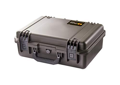 Waterproof Case (Dry Box)   Pelican Storm iM2300 Case With Padded Divider Set (Black) (Renewed)