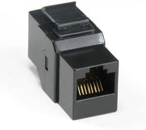 Cat 6 Inline Coupler w//Keystone Latch Blue InstallerParts 100 Pack