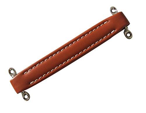 KAISH Orange Vintage Style Guitar AMP Amplifier Vinyl Leather Handle for Fender Ampeg AMPS