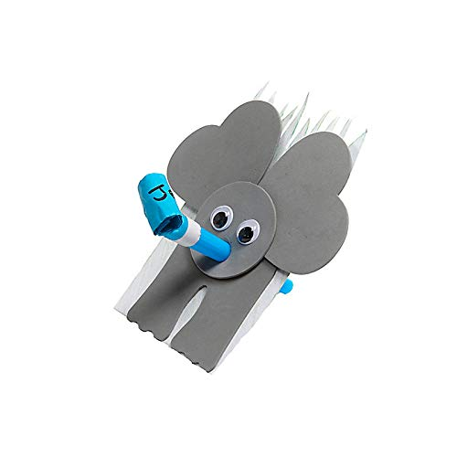 Trumpeting Elephant Craft Pack Pkg. 10 - in The Wild VBS by LifeWay