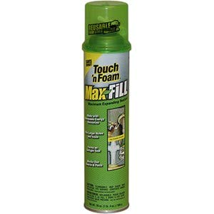 DAP 20012 4001020012 20oz Touch N Foam Max Fill Max Expansion Insulating Foam (Old Convenience # 4001020012) - 12ct. Case